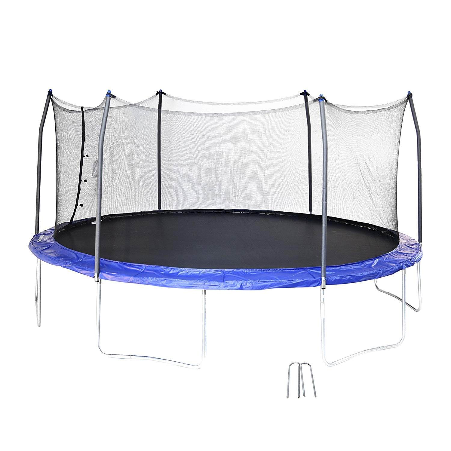 Skywalker 17 Ft. Oval with Enclosure and Wind Stakes