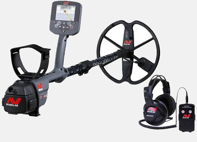 Minelab CTX 3030 Standard Pack with GPS Rechargeable