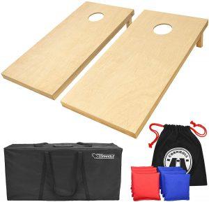 Go Sports Solid Wood Premium Cornhole