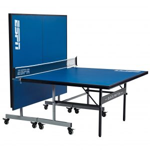 ESPN 2-Piece Official Size 15mm Quick Match Table Tennis Table