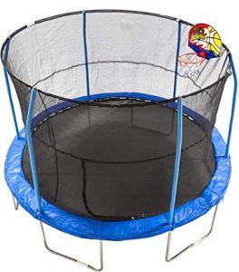 bounce N dunk 12 foot jumpking trampoline