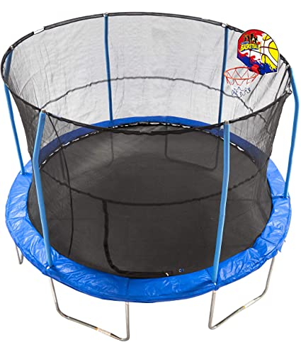 Bounce N' Dunk 12-foot JumpKing Trampoline