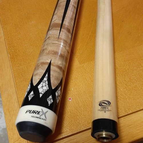PureX Technology Pool Cue with Low Deflection Shaft